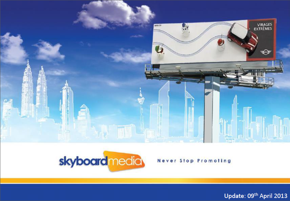 Skyboard Media Proposal – April 2013